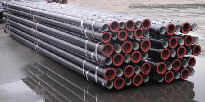 Ductile iron di pipe jrk group